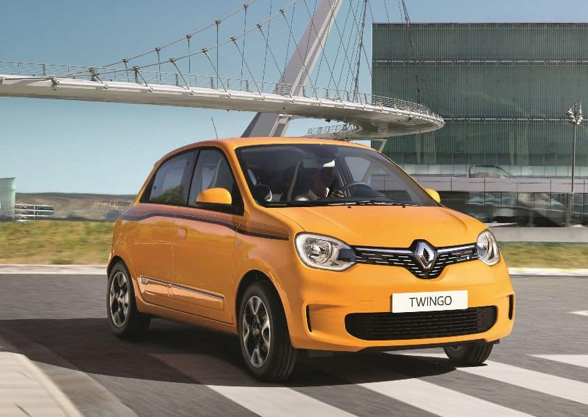 New Renault TWINGO low 1