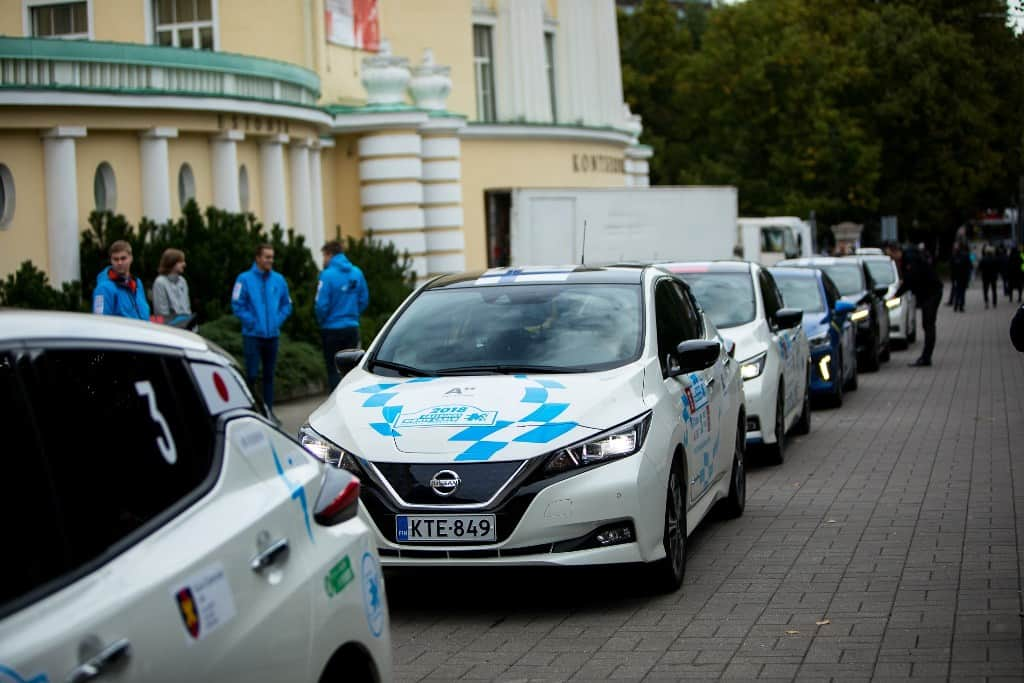 Nissan LEAF powers marathon across Europe 7
