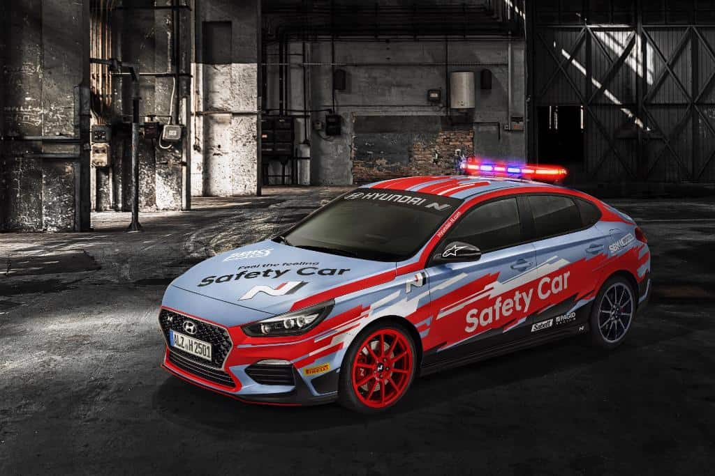 i30 Fastback N World SBK Safety Car 1a