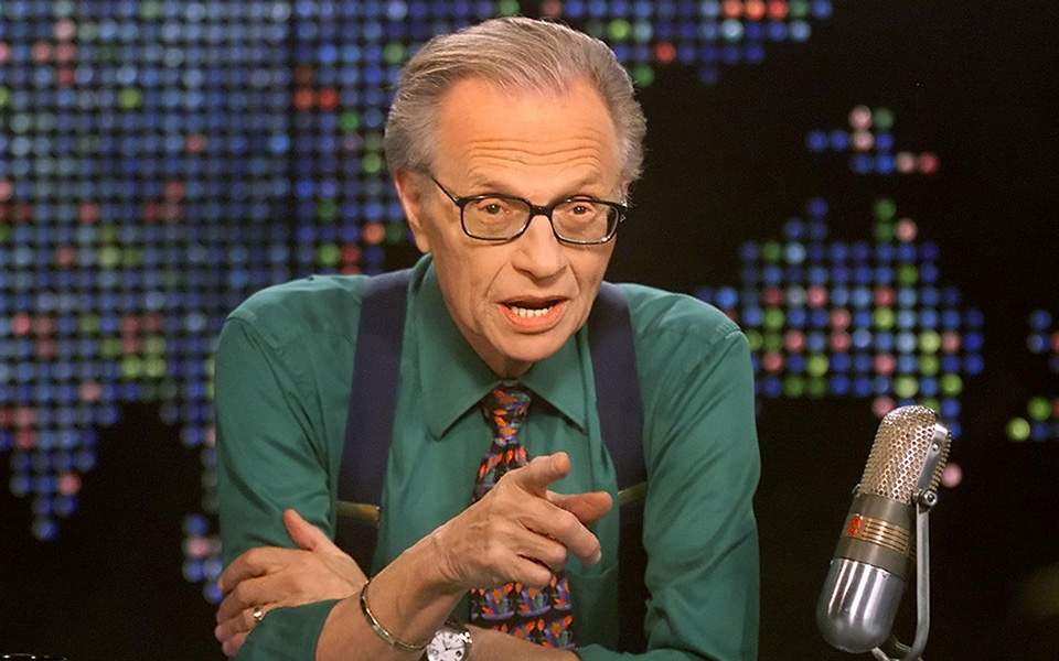 LARRY KING tv
