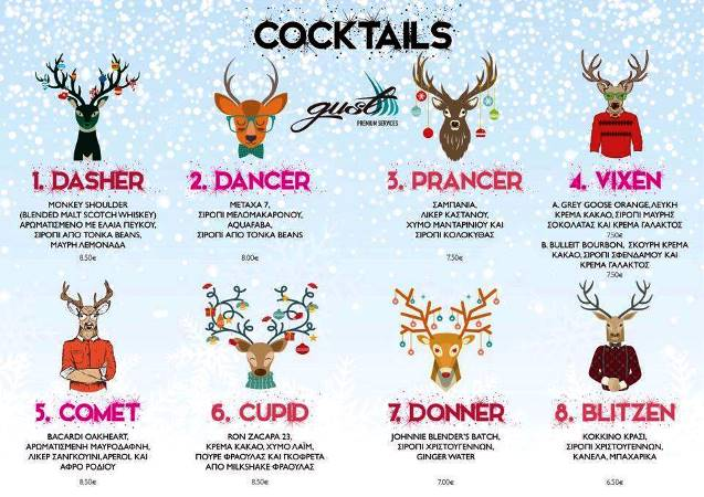 gust cocktails christmas