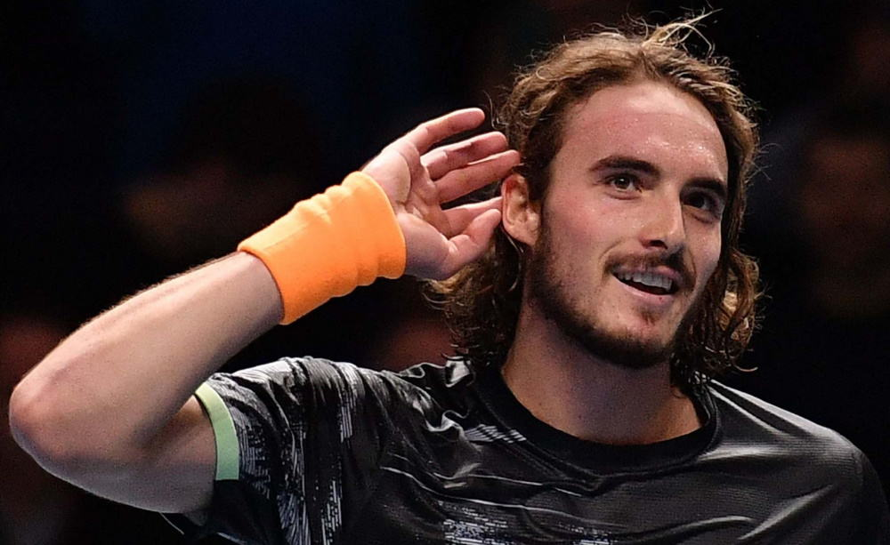 Tsitsipas revels in victory over Federer