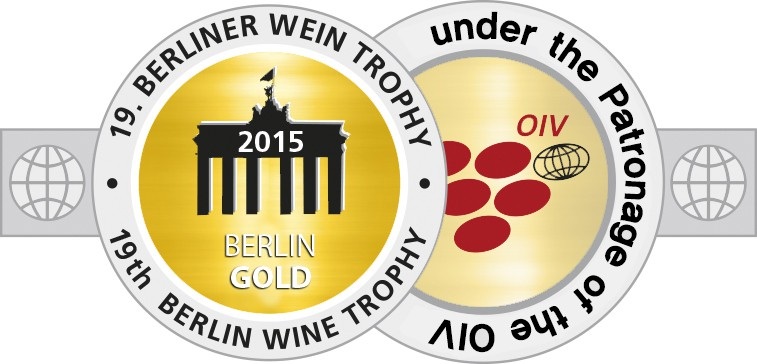 Medal BerlinWeinTrophy 2015 Gold