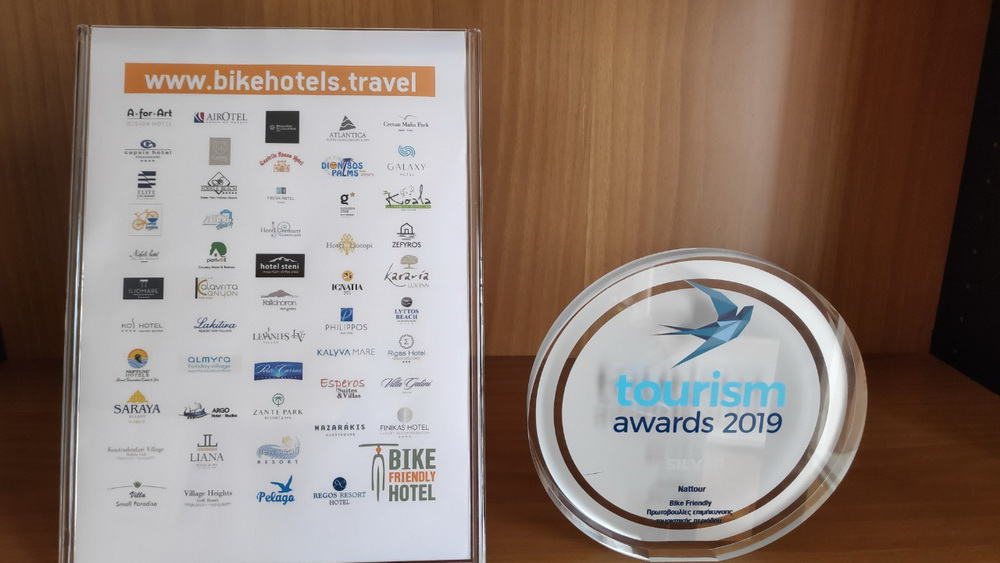 BIKE FRIENDLY HOTELS TOURISM AWARDS19